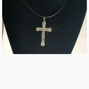 Other - Sterling Silver Crucifix Necklace